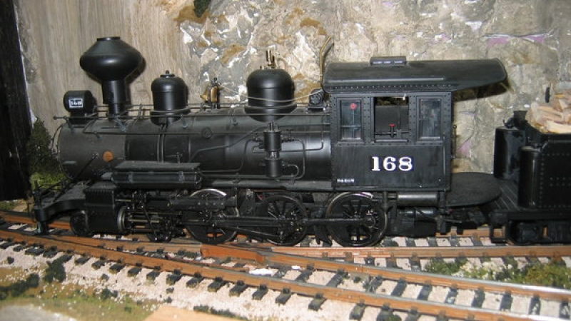T12 4-6-0 Number 168